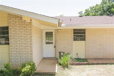 Burnet Single Family Home For Sale: 905 N Pierce St