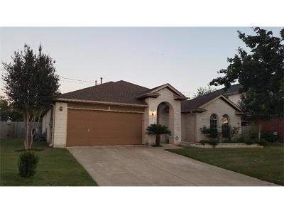Pflugerville Single Family Home For Sale: 1413 Haley Gray Dr