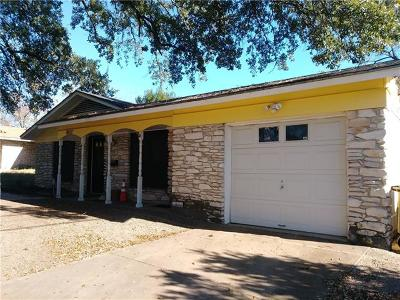 Travis County Single Family Home Pending - Taking Backups: 6917 La Salle Dr