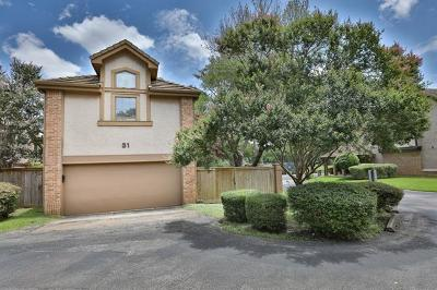 Condo/Townhouse Pending - Taking Backups: 11310 Spicewood Club Dr #31