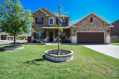 Round Rock Single Family Home For Sale: 2747 Belicia Ln