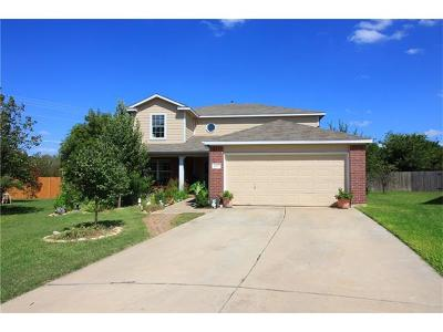 Cedar Park Single Family Home For Sale: 1602 Gouda Ct