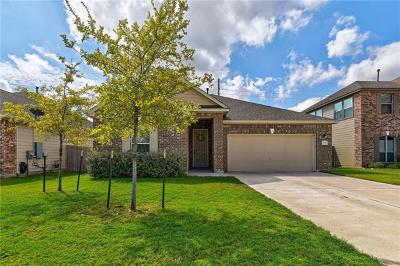 Round Rock Single Family Home For Sale: 6017 Mantalcino Dr