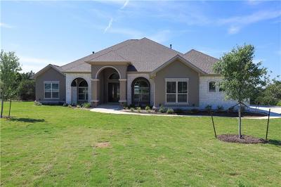 Leander Single Family Home For Sale: 3413 Prairie Heights Dr