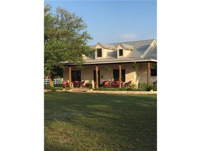Leander Farm For Sale: 407 Mesa Grande