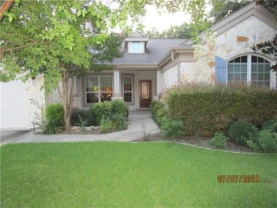 Georgetown Single Family Home For Sale: 106 Llano Cv