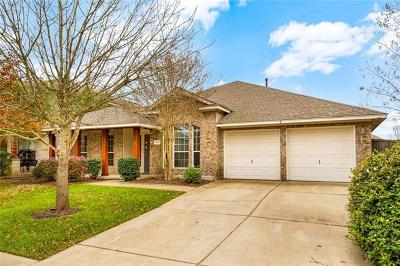 Manor Single Family Home For Sale: 13812 Field Spar Dr