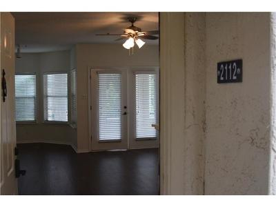 Lago Vista Condo/Townhouse For Sale: 3404 American Dr #2112
