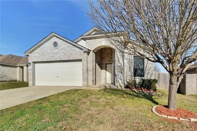 Leander Single Family Home Pending - Taking Backups: 2105 Woodway Dr