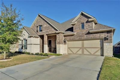 Leander Single Family Home For Sale: 913 Hartman Dr
