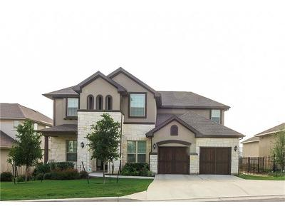 Leander Single Family Home For Sale: 3612 Venezia Vw