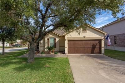 Cedar Park Single Family Home Pending - Taking Backups: 2312 Sage Canyon Dr
