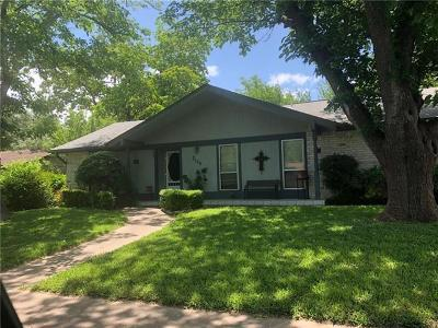 Hays County, Travis County, Williamson County Single Family Home Pending - Taking Backups: 7125 S Brook Dr
