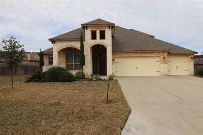 Harker Heights TX Single Family Home For Sale: $311,900