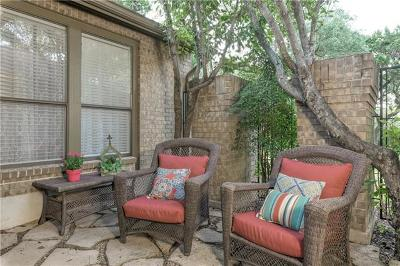 Austin Condo/Townhouse For Sale: 5720 N Scout Island Cir