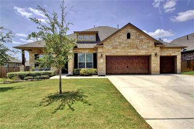 Round Rock Single Family Home Pending: 2908 San Milan Pass