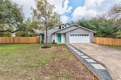 Cedar Park Single Family Home For Sale: 1409 Limestone Ln