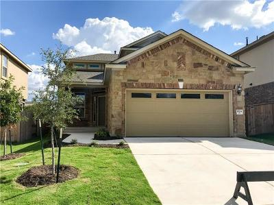 Round Rock Single Family Home For Sale: 1024 Chad Loop