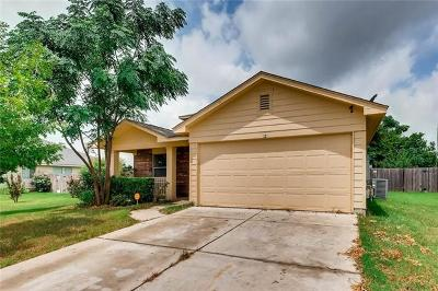 Hutto Single Family Home Pending - Taking Backups: 320 McCoy Ln
