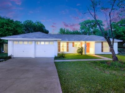 Hays County, Travis County, Williamson County Single Family Home For Sale: 5426 Salem Walk Dr