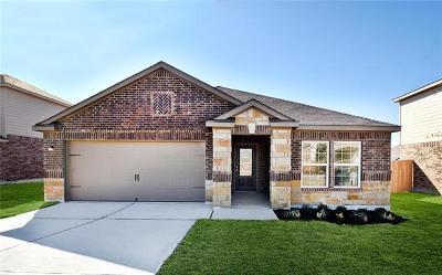 Manor Single Family Home For Sale: 13733 Charles W. Fairbanks Cv