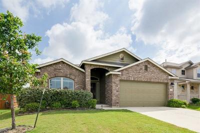 Leander Single Family Home For Sale: 1012 Cotton Patch Trl