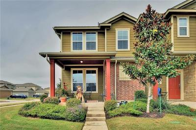 Round Rock Condo/Townhouse For Sale: 644 Lookout Tree Ln