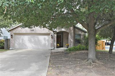 Round Rock Single Family Home For Sale: 1100 Terrier Cv