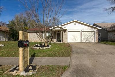 Travis County Single Family Home Pending - Taking Backups: 1902 Scofield Ln