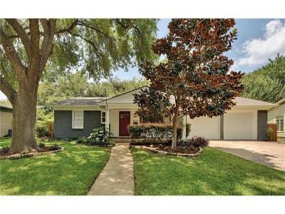 Austin Single Family Home For Sale: 4906 Placid Pl