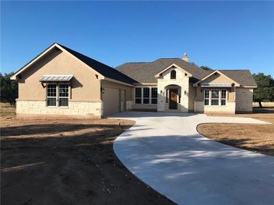 Burnet County Single Family Home For Sale: 102 Secret Cir