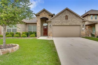 Cedar Park Single Family Home Pending - Taking Backups: 4605 Zacharys Run