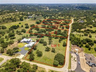 Dripping Springs Residential Lots & Land For Sale: TBD - lot 3 Deerfield Rd