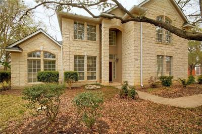 Hays County, Travis County, Williamson County Single Family Home Active Contingent: 11804 Onion Hollow Run