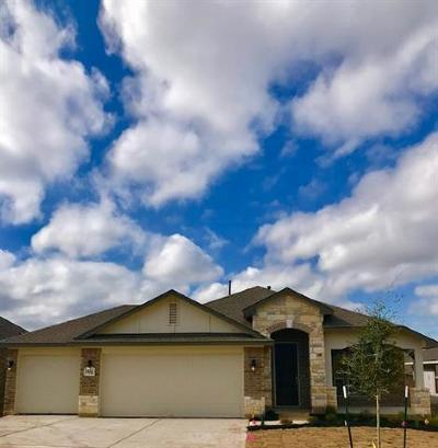 Hutto Single Family Home For Sale: 108 Kirkhill Cv