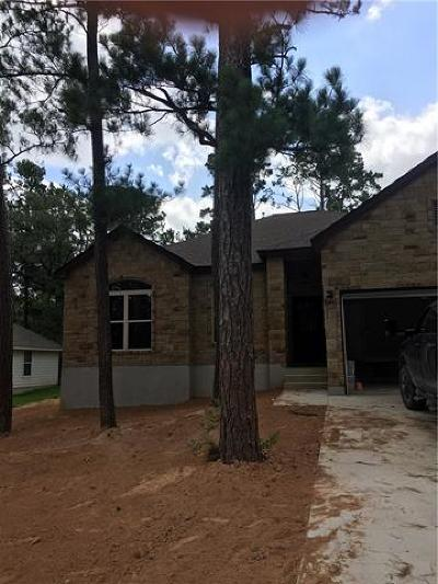 Bastrop Single Family Home For Sale: 401 Tahitian Dr