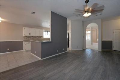 Cedar Park Single Family Home Pending - Taking Backups: 1205 Paint Brush Trl