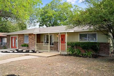 San Marcos Single Family Home For Sale: 421 Broadway St
