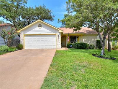 Cedar Park Single Family Home Pending - Taking Backups: 1307 Deepbrook Path