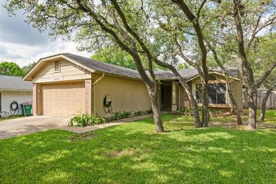 Cedar Park Single Family Home Pending - Taking Backups: 3408 Larkspur Way