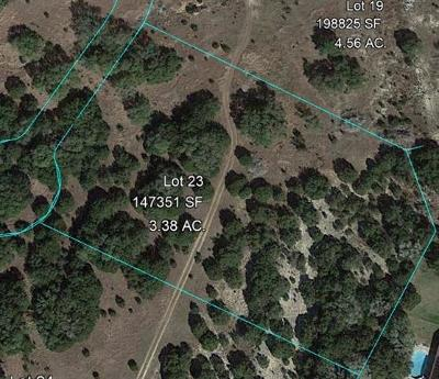 Dripping Springs Residential Lots & Land For Sale: Lot 23 Calvary Cove