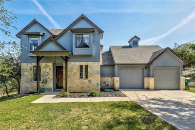Lago Vista Single Family Home For Sale: 21706 Shady Rock Cv