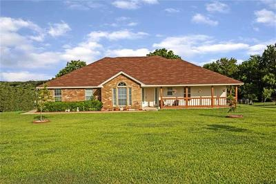 Lampasas County Single Family Home Pending - Taking Backups: 825 County Road 3350