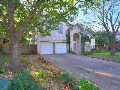 Round Rock Single Family Home For Sale: 1912 Oakview Dr