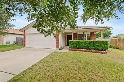 Hutto Single Family Home Pending - Taking Backups: 403 Ballentine Ct