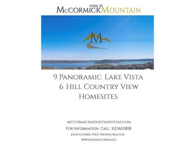 Residential Lots & Land For Sale: 15505 McCormick Vista Dr