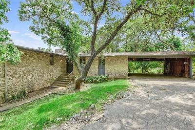Austin Single Family Home Pending - Taking Backups: 3610 Highland View Dr