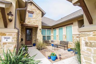 Lago Vista Single Family Home For Sale: 7618 Turnback Ledge Trl