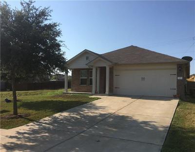 Hutto Single Family Home For Sale: 403 San Antonio Riverwalk