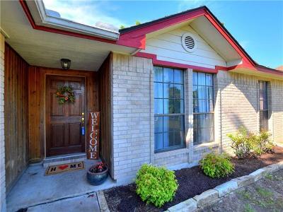 Leander Single Family Home For Sale: 2500 Beverly Cv